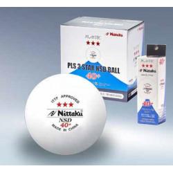"""Balles NITTAKU 3*** """"SD 40+""""  Carton de 120 Balles"""