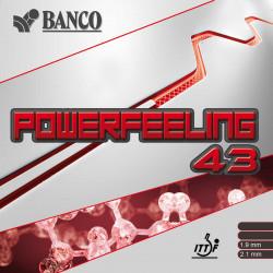 """BANCO """"POWERFEELING 43"""""""