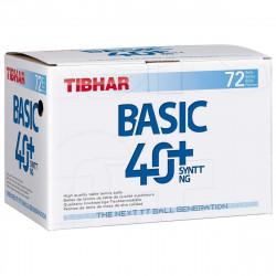 """Balles TIBHAR Basic Syntt """"Boite de 72"""""""