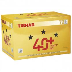 """Balles TIBHAR 3* 40+ Syntt NG """"Boite de 72 balles"""""""