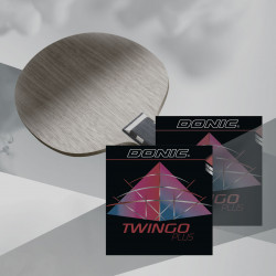 "Raquette DONIC ""WALDNER EXCLUSIVE avec TWINGO +"""