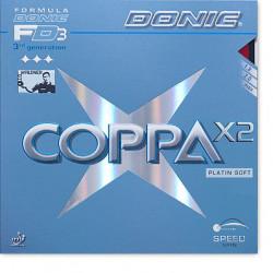"DONIC ""Coppa X2 Platin Soft"""
