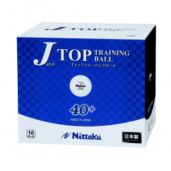 "Balles NITTAKU J-Top Training 40+ ""carton de 120"""