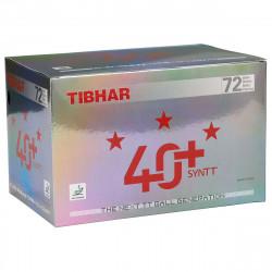 "Balles TIBHAR 40+ 3* Syntt  ""Boite de 72 balles"""